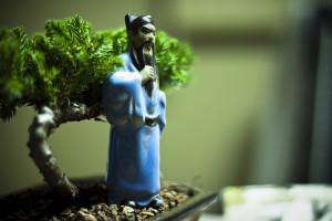 figurine, bonsai accessory